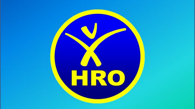 HRO rund größer Hintergrund