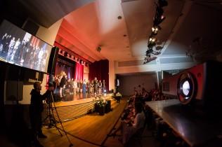 Jugendfeier 2018 Fürstenwalde Bühnenshow